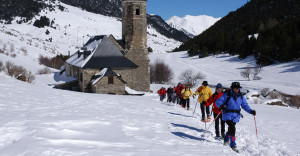 Montgarri Outdoor - excursion with snowshoes