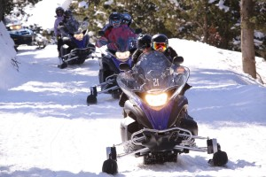 Montgarri Outdoor - EXCURSIONE EN MOTOS DE NIEVE
